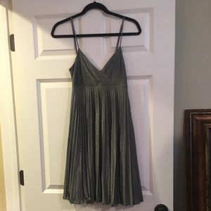 Max and Cleo silver dress